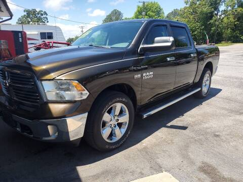 2013 RAM Ram Pickup 1500 for sale at Bailey Family Auto Sales in Lincoln AR