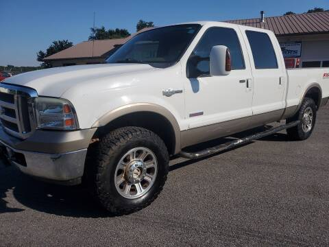 2005 Ford F-250 Super Duty for sale at Bailey Family Auto Sales in Lincoln AR