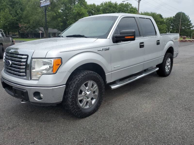2012 Ford F-150 for sale at Bailey Family Auto Sales in Lincoln AR