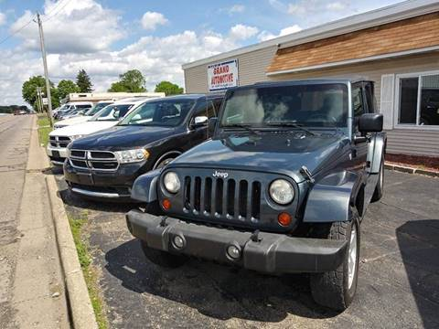 2007 Jeep Wrangler Unlimited for sale in Jackson, MI