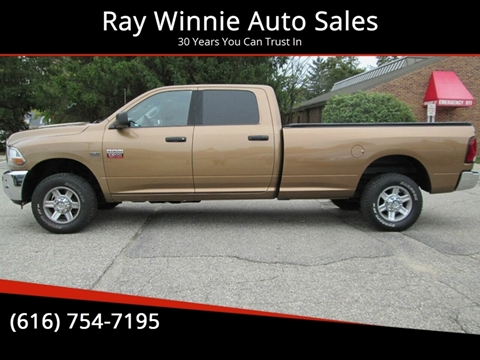 2012 RAM Ram Pickup 2500 for sale in Greenville, MI