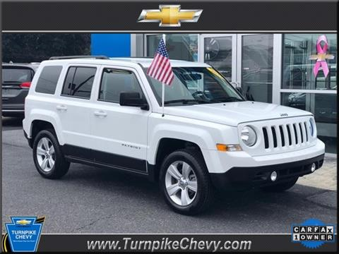 2017 Jeep Patriot for sale in Morgantown, PA