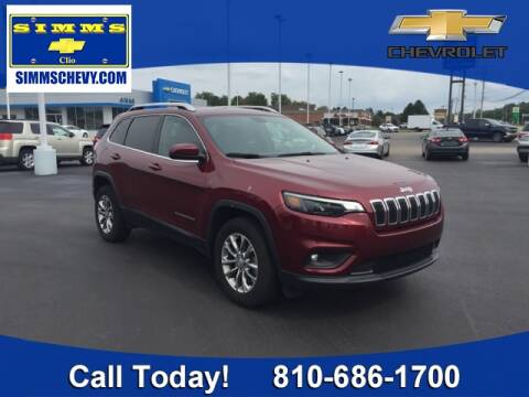 2019 Jeep Cherokee for sale at Aaron Adams @ Simms Chevrolet in Clio MI