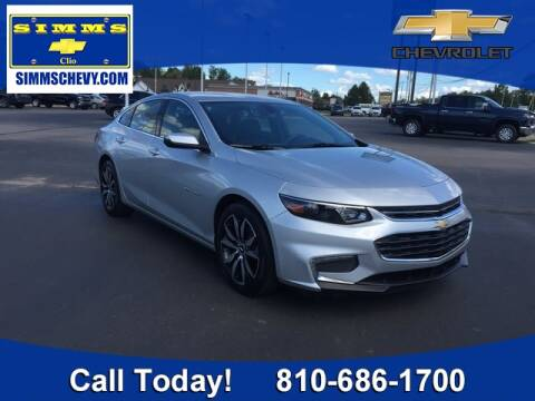 2017 Chevrolet Malibu for sale at Aaron Adams @ Simms Chevrolet in Clio MI