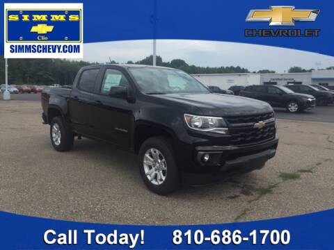 2021 Chevrolet Colorado for sale at Aaron Adams @ Simms Chevrolet in Clio MI