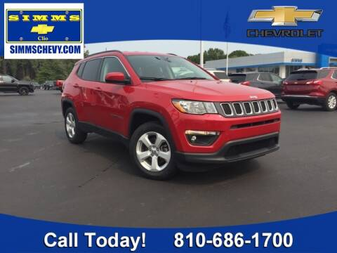 2017 Jeep Compass for sale at Aaron Adams @ Simms Chevrolet in Clio MI