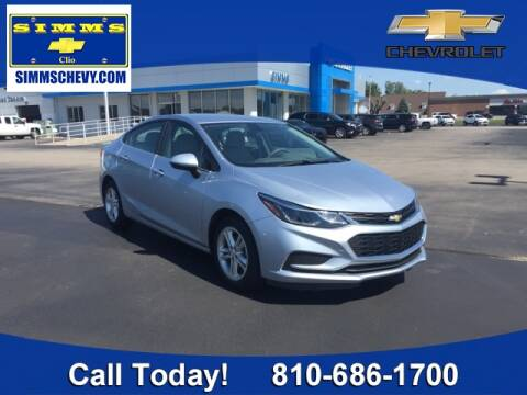 2017 Chevrolet Cruze for sale at Aaron Adams @ Simms Chevrolet in Clio MI