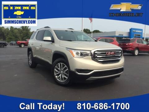 2017 GMC Acadia for sale at Aaron Adams @ Simms Chevrolet in Clio MI