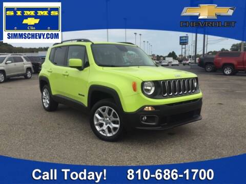 2017 Jeep Renegade for sale at Aaron Adams @ Simms Chevrolet in Clio MI