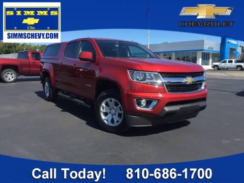 2015 Chevrolet Colorado for sale at Aaron Adams @ Simms Chevrolet in Clio MI