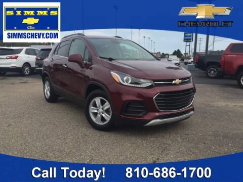 2017 Chevrolet Trax for sale at Aaron Adams @ Simms Chevrolet in Clio MI