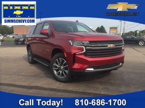 2021 Chevrolet Tahoe for sale at Aaron Adams @ Simms Chevrolet in Clio MI