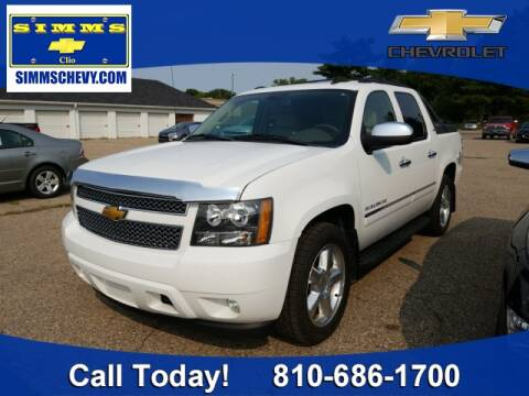 2009 Chevrolet Avalanche for sale at Aaron Adams @ Simms Chevrolet in Clio MI