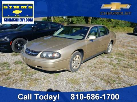 2004 Chevrolet Impala for sale at Aaron Adams @ Simms Chevrolet in Clio MI