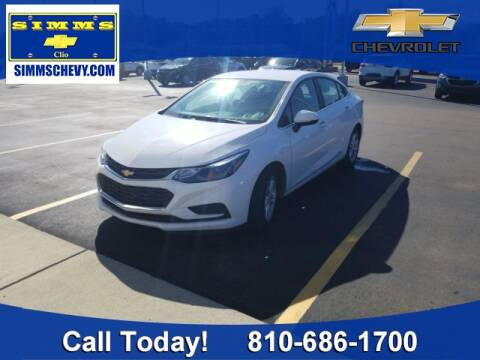2018 Chevrolet Cruze for sale at Aaron Adams @ Simms Chevrolet in Clio MI