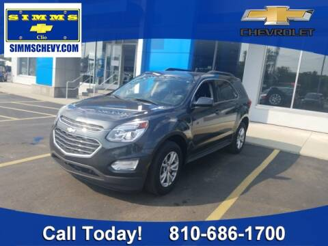 2017 Chevrolet Equinox for sale at Aaron Adams @ Simms Chevrolet in Clio MI