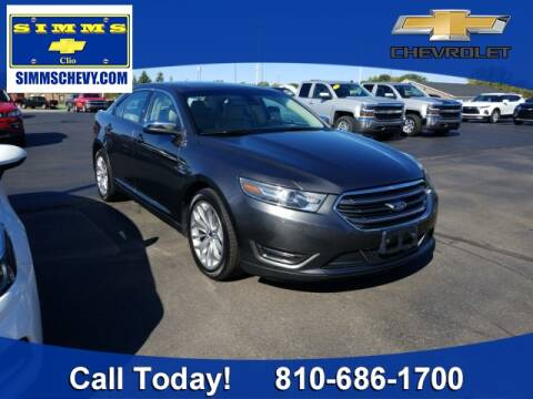 2017 Ford Taurus for sale at Aaron Adams @ Simms Chevrolet in Clio MI