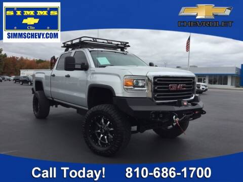 2016 GMC Sierra 2500HD for sale at Aaron Adams @ Simms Chevrolet in Clio MI