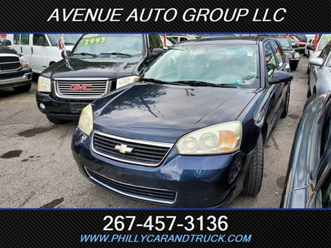 2007 Chevrolet Malibu Maxx for sale in Philadelphia, PA