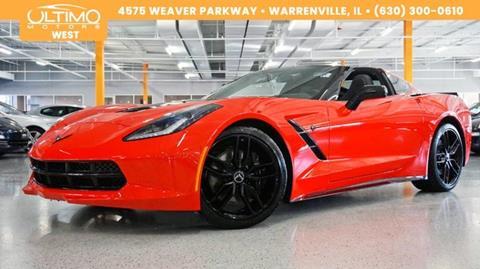 2017 Chevrolet Corvette For Sale In Warrenville IL