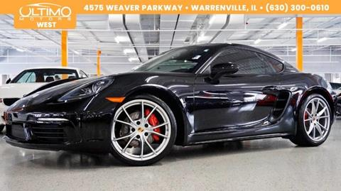 2017 Porsche 718 Cayman for sale in Warrenville, IL