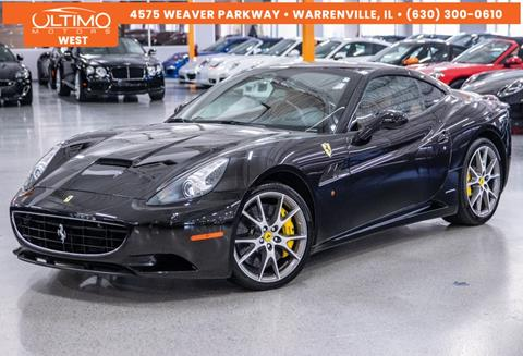 2010 Ferrari California for sale in Warrenville, IL