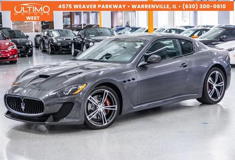 2014 Maserati GranTurismo for sale in Warrenville, IL