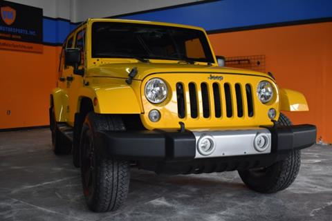 2015 Jeep Wrangler Unlimited for sale in Carmel, IN