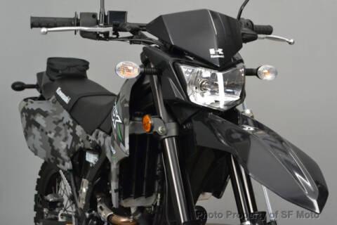 2018 Kawasaki KLX250 for sale at SF Moto in San Francisco CA