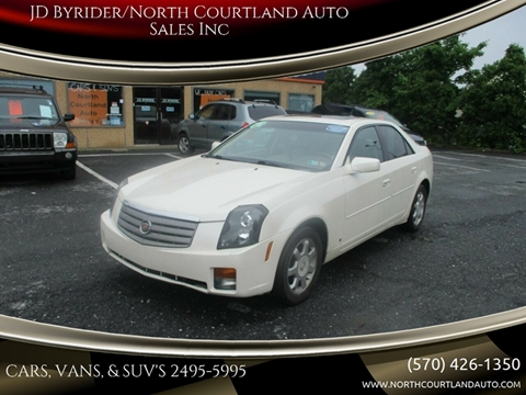 Jd Byrider Inventory >> 2006 Cadillac Cts For Sale In East Stroudsburg Pa