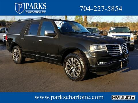 2016 Lincoln Navigator L for sale in Charlotte, NC