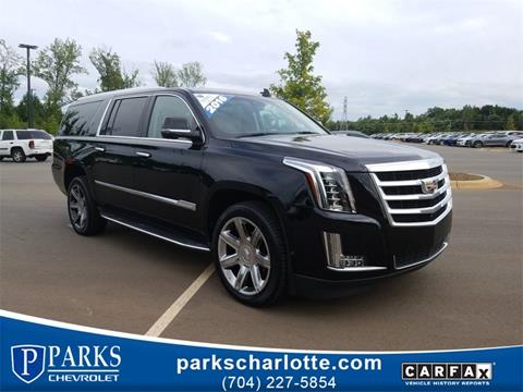 2016 Cadillac Escalade ESV for sale in Charlotte, NC