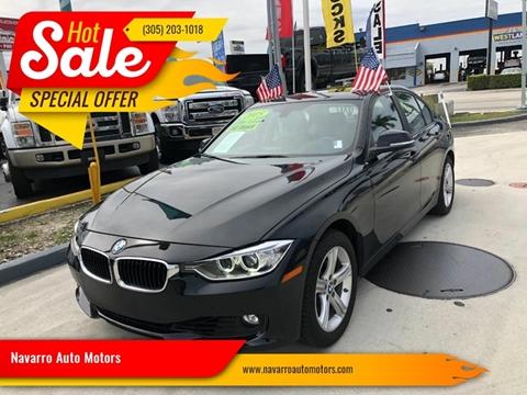 2015 BMW 3 Series for sale in Hialeah, FL