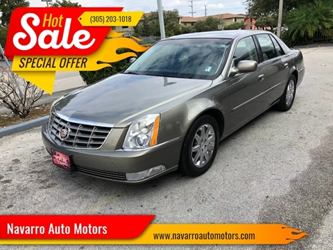2011 Cadillac DTS for sale in Hialeah, FL