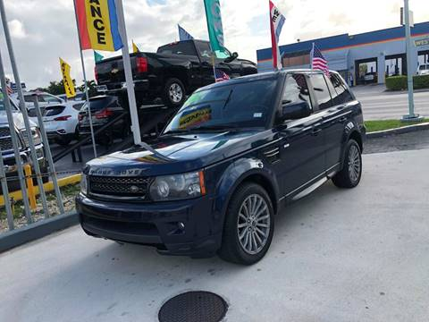 2013 Land Rover Range Rover Sport for sale in Hialeah, FL