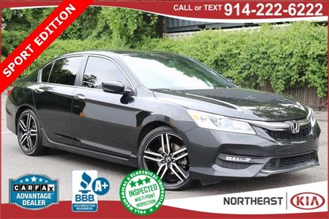 2016 Honda Accord for sale in White Plains, NY