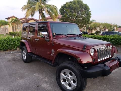 2007 Jeep Wrangler Unlimited for sale in Miami, FL