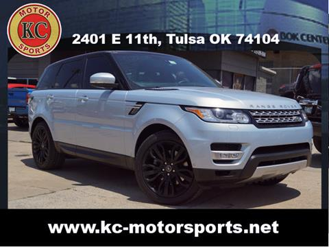 2015 Land Rover Range Rover Sport for sale at KC MOTORSPORTS in Tulsa OK