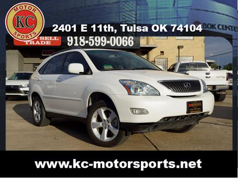 2007 Lexus RX 350 for sale at KC MOTORSPORTS in Tulsa OK