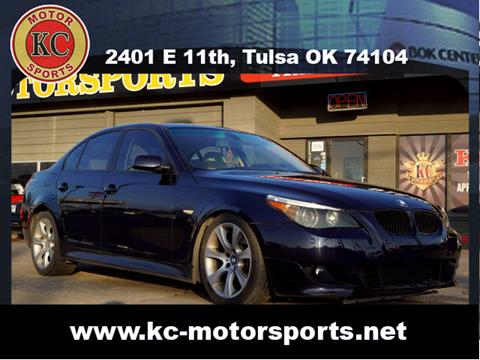 2005 BMW 5 Series for sale at KC MOTORSPORTS in Tulsa OK