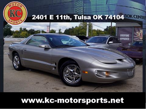 2001 Pontiac Firebird for sale in Tulsa, OK