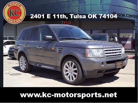 2006 Land Rover Range Rover Sport for sale at KC MOTORSPORTS in Tulsa OK