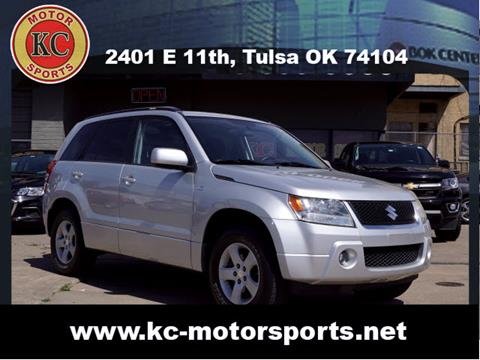 2007 Suzuki Grand Vitara for sale at KC MOTORSPORTS in Tulsa OK