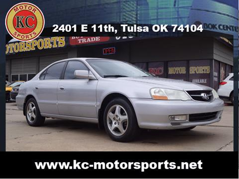 2002 Acura TL for sale at KC MOTORSPORTS in Tulsa OK