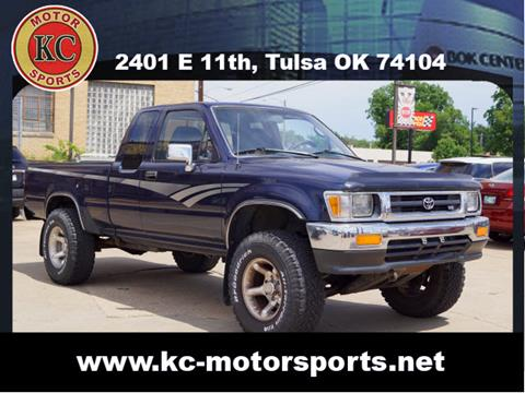 1992 Toyota Pickup for sale at KC MOTORSPORTS in Tulsa OK