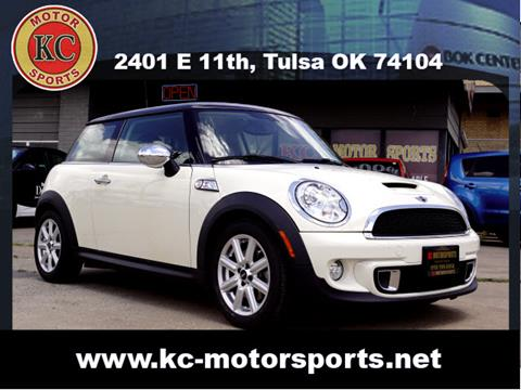 2013 MINI Hardtop for sale at KC MOTORSPORTS in Tulsa OK