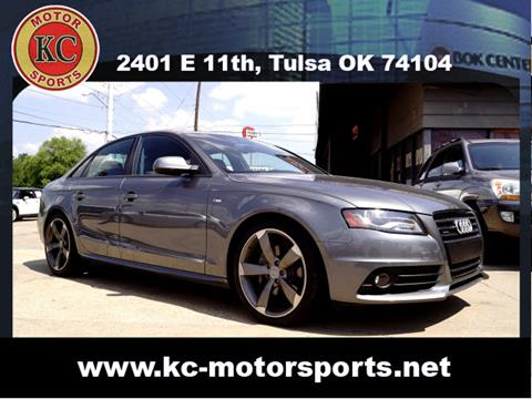 2012 Audi A4 for sale at KC MOTORSPORTS in Tulsa OK