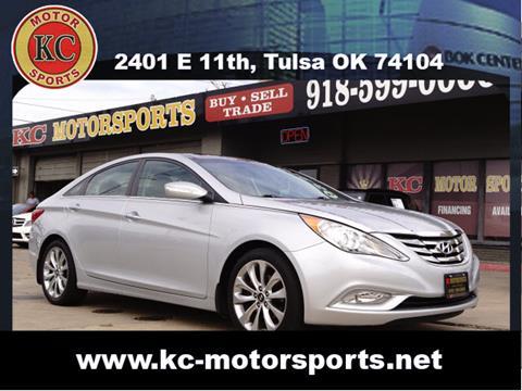 2012 Hyundai Sonata for sale at KC MOTORSPORTS in Tulsa OK
