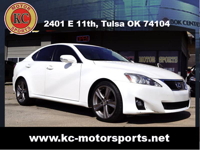 2013 Lexus IS 250 for sale at KC MOTORSPORTS in Tulsa OK