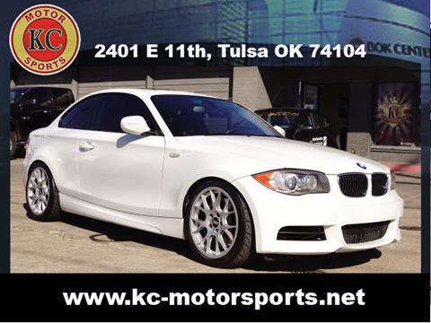 2011 BMW 1 Series for sale at KC MOTORSPORTS in Tulsa OK